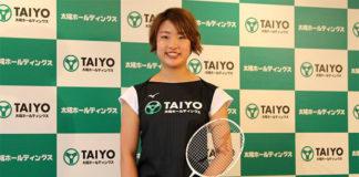 Nozomi Okuhara becomes a professional badminton player. (photo: AFP)