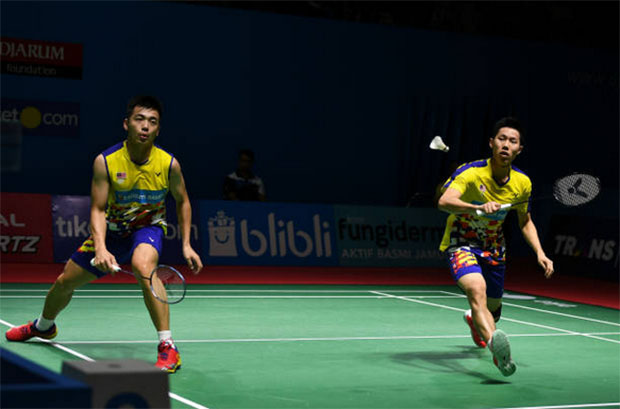 Wish Goh V Shem/Tan Wee Kiong beat of luck in their new adventures! (photo: AFP)