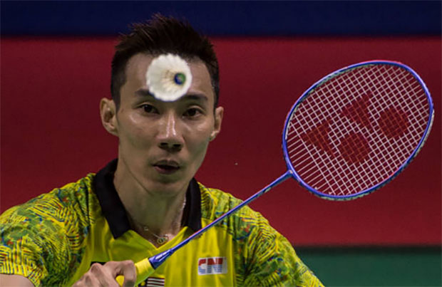 Lee Chong Wei hopes to see Lin Dan again in the 2020 Olympics in Tokyo. (photo: AFP)