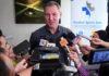 Morten Frost Hansen talks to media on Thursday. (photo: Bernama)