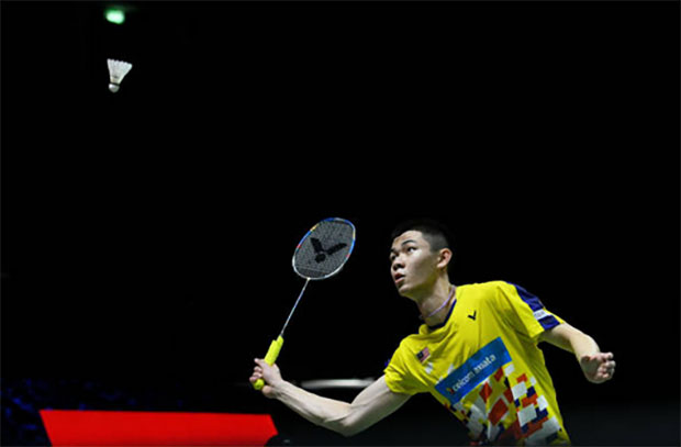 Lee Zii Jia is looking forward to meet Kento Momota in Malaysia Masters second round. (photo: AFP)