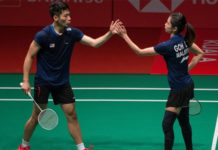 Chan Peng Soon/Goh Liu Ying hold off Goh Soon Huat/Shevon Jemie Lai 22-20, 22-20 to advance to Malaysia Masters semis. (photo: Bernama)