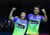 Liliyana Natsir (L) will bid farewell to badminton at the 2019 Indonesia Masters. (photo: PBSI)