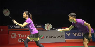 Chan Peng Soon/Goh Liu Ying win opening round at Indonesia Masters. (photo: Bernama)