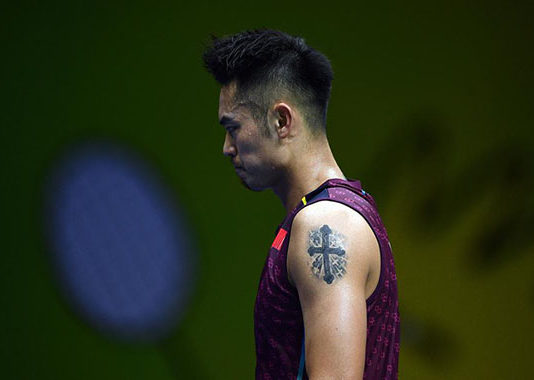 Lin Dan needs a miracle in order to qualify for the Tokyo Games. (photo: AFP)