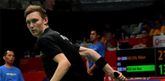 Viktor Axelsen has complained about the small number of subsidies provided by Denmark's Badminton Union (DBF). (photo: BWF)
