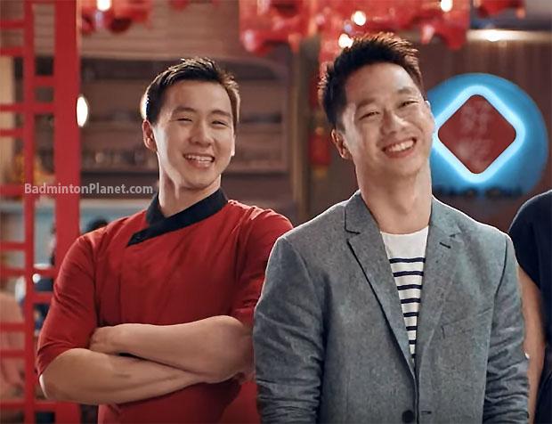 Wish Kevin Sanjaya Sukamuljo and Marcus Fernaldi Gideon a Happy Chinese New Year! (photo: Mandiri)