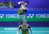 Together, Marcus Fernaldi Gideon/Kevin Sanjaya Sukamuljo are unstoppable on the court. (photo: PBSI)