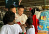 Total respect to Lee Chong Wei for his commitment to bring hope and joy to children in need. (photo: Sinar Ceria Facebook)