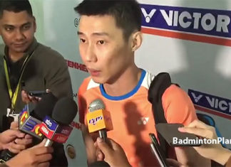 Lee Chong Wei is currently able to practice three times a week.