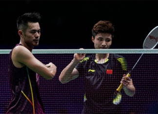 Hope Lin Dan can go far enough in the draw to face Shi Yuqi in the 2019 All England. (photo: AFP)