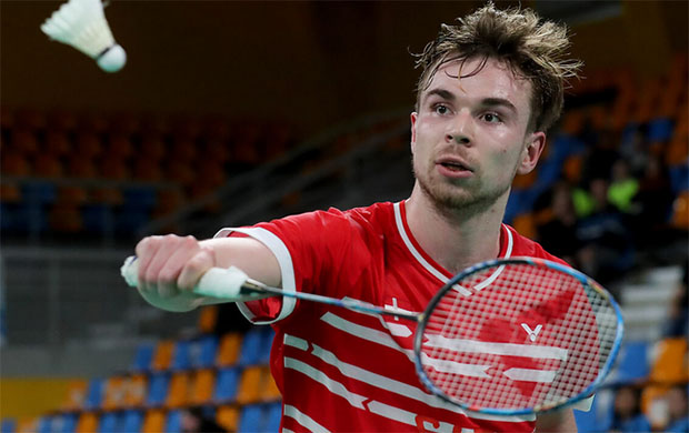 Rasmus Gemke is another young Denmark player poised to make an impact in the near future. (photo: Victor)
