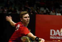 Viktor Axelsen is the absolute favorite in Barcelona. (photo: Xinhua)