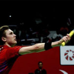 Viktor Axelsen advances to Barcelona Spain Masters second round. (photo: Xinhua)