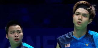 2019 All England semi-finals: Aaron Chia/Sooh Wooi Yik.