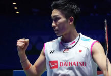 2019 All England semi-finals: Kento Momota.