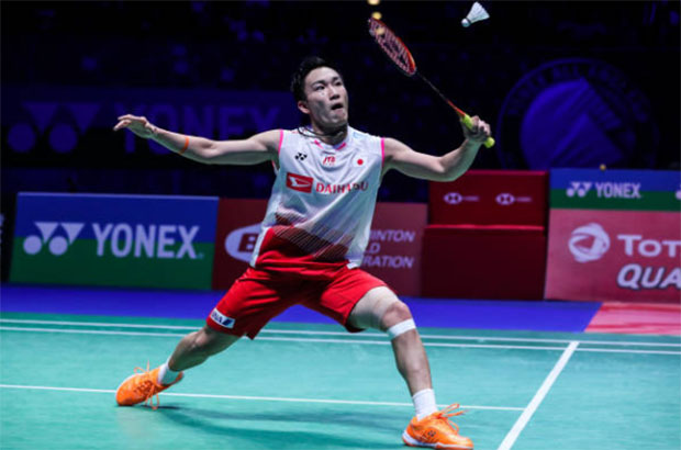 Kento Momota is one win away from his first ever All England title. (photo: Shi Tang/Getty Images)