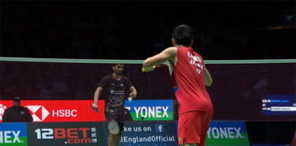 2019 All England quarter-finals: Kento Momota vs. Kidambi Srikanth