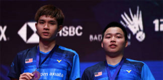 Good job to Aaron Chia/Soh Wooi Yik at All England final! (photo: AFP)