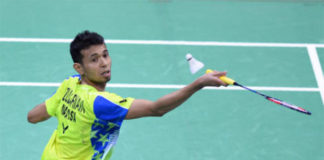 Iskandar Zulkarnain enters China Masters semi-final. (photo: Bernama)