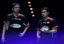 Mohammad Ahsan/Hendra Setiawan falter in the Swiss Open quarter-finals. (photo: AFP)