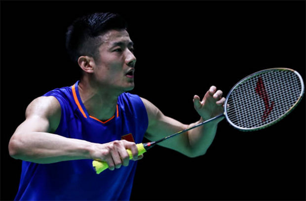Chen Long crashes out of Swiss Open. (photo: VCG)