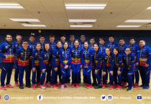 Malaysia beat Macau 5-0 at 2019 Asia Mixed Team Championships. (photo: BAM)