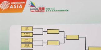 Malaysia face Japan in Badminton Asia Mixed Team quarter-finals. (photo: BAM)