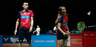 Tan Kian Meng/Lai Pei Jing look to slowly restoring their confidence. (photo: Bernama)
