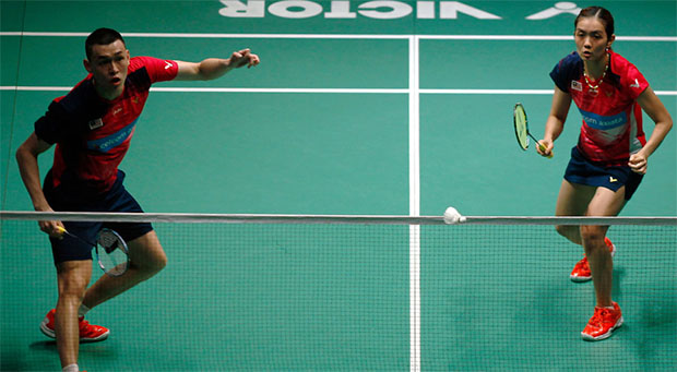 Tan Kian Meng/Lai Pei Jing are regaining their confidence and comfort level on the court. (photo: Bernama)