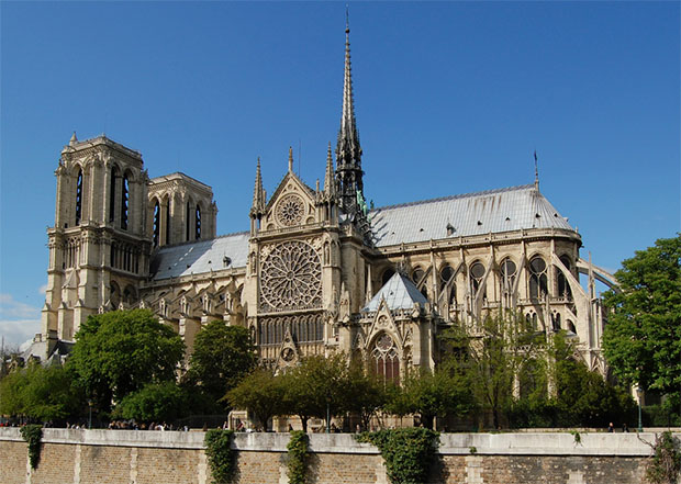 Notre Dame Cathedral - before the devastating fire. (photo: badminton.lv)