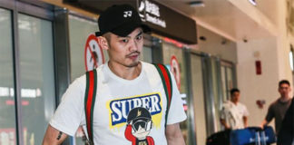 Lin Dan arrives in Wuhan to get ready for the 2019 Badminton Asia Championships. (photo: Sina)