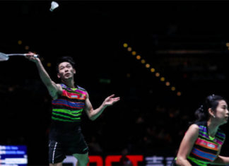 Chan Peng Soon/Goh Liu Ying enter the Badminton Asia Championships second round. (photo: Shi Tang/Getty Images)