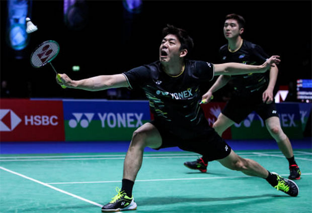 Lee Yong-Dae still has the burning fire to rise to the top in men's doubles. (photo: Shi Tang/Getty Images)