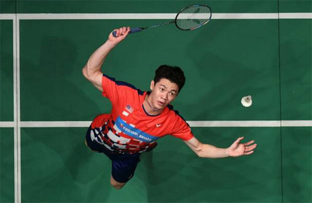 Lee Zii Jia gets off to a strong start at the New Zealand Open. (photo: Mohd Rasfan/Afp/Getty Images)