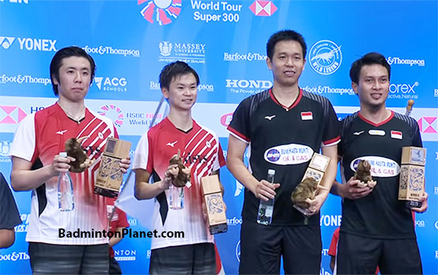 Mohammad Ahsan/Hendra Setiawan are the most stable Indonesian men's doubles pair so far in 2019.