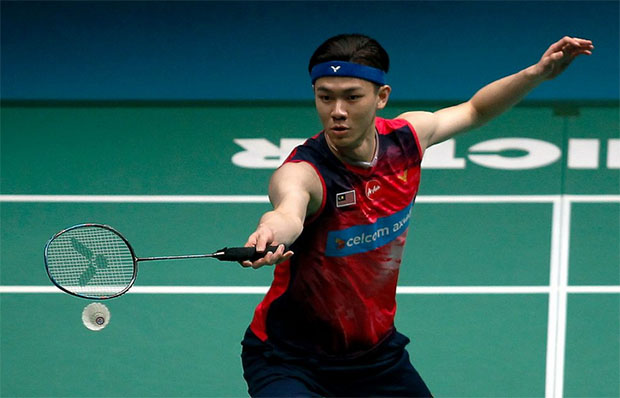 Lee Zii Jia in good spirit ahead of the 2019 Sudirman Cup. (photo: Bernama)