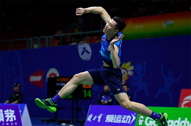 Lee Zii Jia produces resilient play under pressure. (photo: AFP)