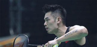 Lin Dan still has plenty of gas left in the tank. (photo: AFP)