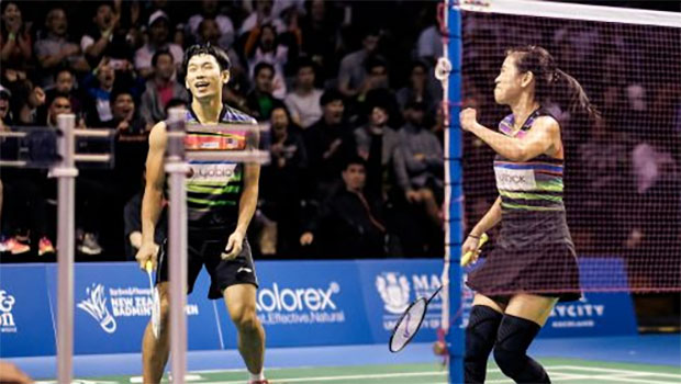 Chan Peng Soon/Goh Liu Ying advance to Australian Open quarter-final. (photo: Barfoot & Thompson)