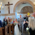 Mads Pieler Kolding marries girlfriend in a church. (photo: Mads Pieler Kolding's Instagram)