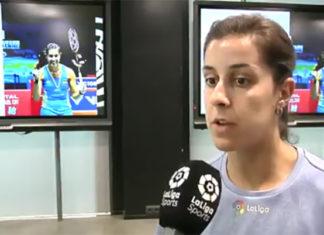 Wish Carolina Marin a speedy recovery. (photo: LaLiga)