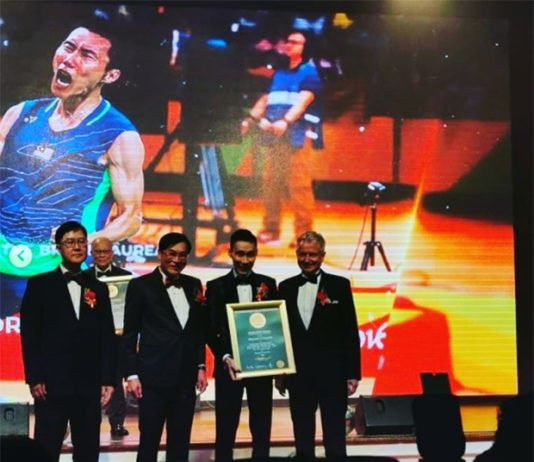 Lee Chong Wei awarded longest reign at World No. 1 in badminton ranking. (photo: bespoked_ianchang's Instagram)