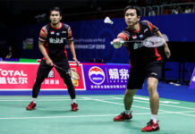 Mohammad Ahsan/Hendra Setiawan are eager to start playing in front of home crowd at the Indonesia Open. (photo: AFP)