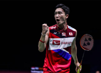 Kento Momota enters Indonesia Open second round. (photo: Shi Tang/Getty Images)