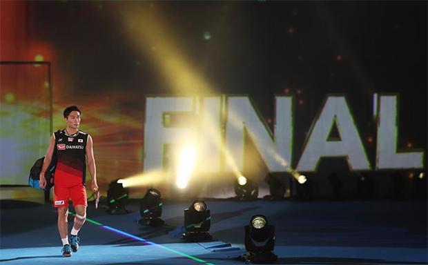 Kento Momota is establishing himself as badminton's best men's singles player post Lee Chong Wei-Lin Dan era. (photo: Xinhua)