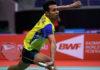 Iskandar Zulkarnain enters into Hyderabad Open semis. (photo: BWF)