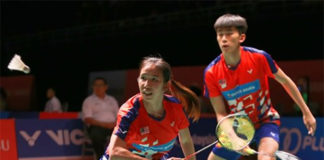 Hoo Pang Ron/Cheah Yee See are one victory away from winning the Hyderabad Open. (photo: Chinapress)