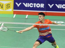 Lim Chong King definitely has a bright badminton career ahead of him! (photo: Bernama)