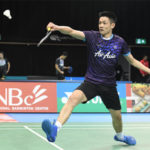 Daren Liew to play Anders Antonsen of Denmark on Wednesday. (photo: Luis Veniegra/Sopa Images/LightRocket via Getty Images)
